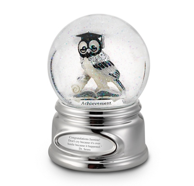 Personalized Owl Snow Globe by Things Remembered