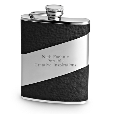 Diagonal Flask - $30.00