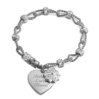 CZ Star Bracelet with complimentary Filigree Keepsake Box