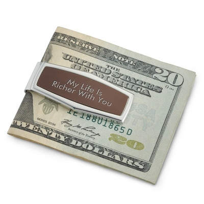 Espresso Money Clip - $30.00