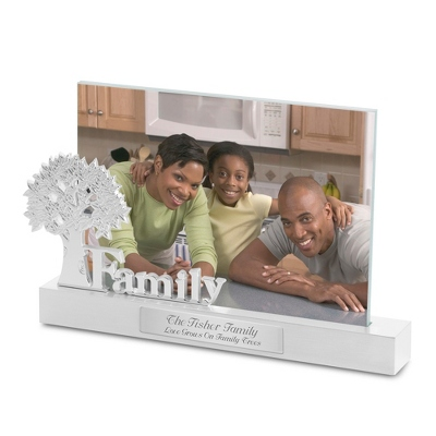 Floating Picture Frame Engraving