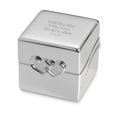 Personalized Silver Ring Box - 24 products