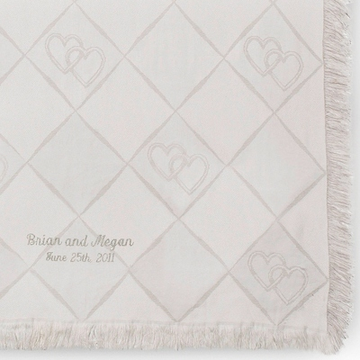 Personalized Throws for Wedding Gift - 24 products