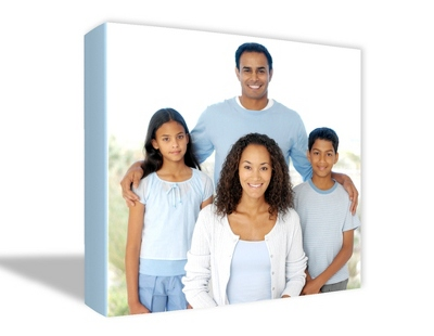 "8"" x 10"" Photo to Canvas Art: Color - $49.99"