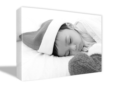 "11"" x 14"" Photo to Canvas Art: Black & White - $69.99"