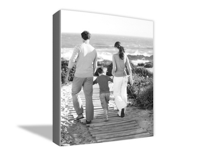 "30"" x 40"" Photo to Canvas Art: Black & White"
