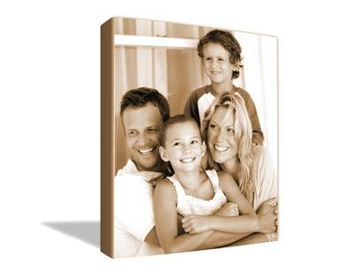 "8"" x 10"" Photo to Canvas Art: Sepia - $49.99"
