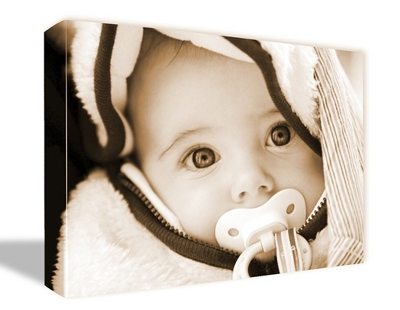 "16"" x 20"" Photo to Canvas Art: Sepia - $99.99"
