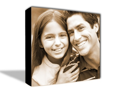 "18"" x 24"" Photo to Canvas Art: Sepia - UPC 825008234413"