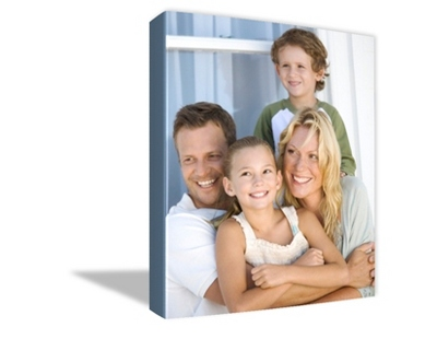 "16"" x 20"" Photo to Canvas Art: Artist Brushstroke - $159.99"