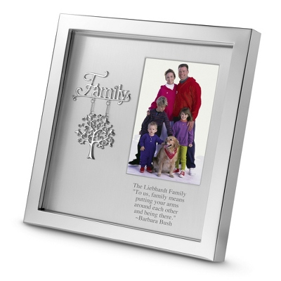 Silver Family Shadowbox
