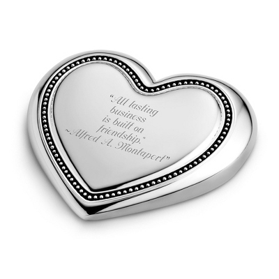 Expressions From The Heart Puffed Heart Paperweight - Business Gifts For Her