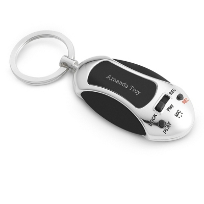 Personalized Message Key Chain