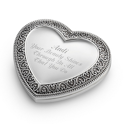 Expressions Heart Compact - Compacts & Change Purses
