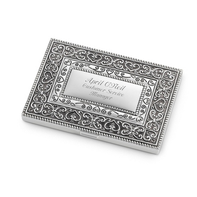 Personalized Expressions Business Card Holder