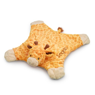 Personalized Gund Cozy Giraffe Blanket