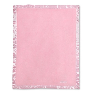 Light Pink Fleece Baby Blanket - UPC 825008241893