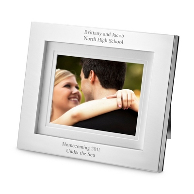 Simply Silver Digital Frame - UPC 825008242333
