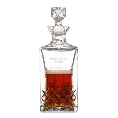 Manhattan Decanter - $85.00
