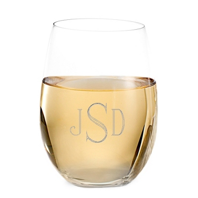 Bridesmaid Engraved Wine Glasses