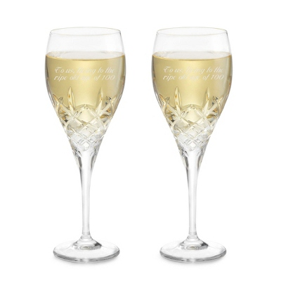 Wedding Crystal Wine Glasses