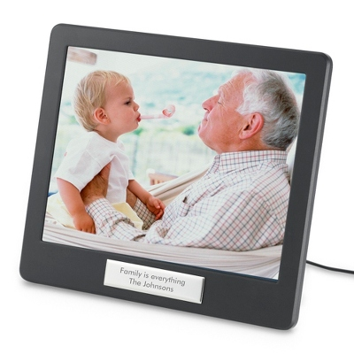 Digital Photo Frame with Engraving