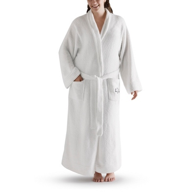 Personalized Small/Medium White Chenille Robe by Things Remembered
