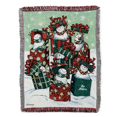 Snow Gifts Throw