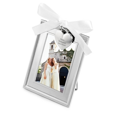 Personalized Picture Frames with Hearts
