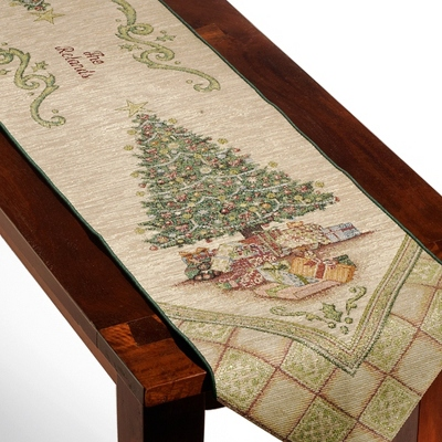 Christmas Elegance Table Runner
