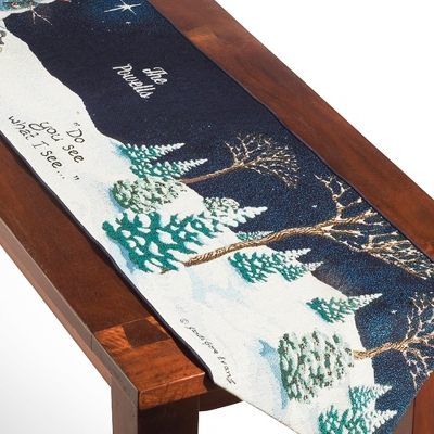 """Do You See What I See"" Table Runner"