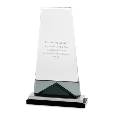 Tall Award with Aluminum Base