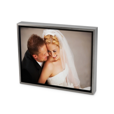 8x10 Color Photo to Canvas Art with Float Frame