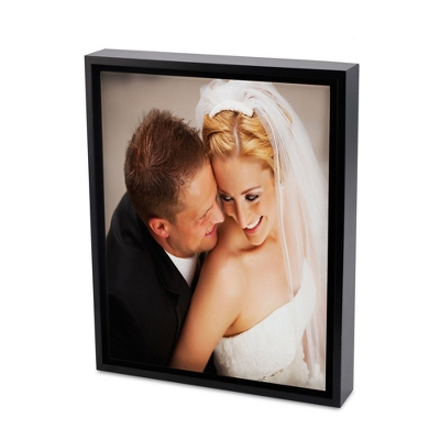 11x14 Color Photo to Canvas Art with Float Frame