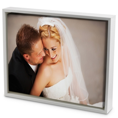30x40 Color Photo to Canvas Art with Float Frame