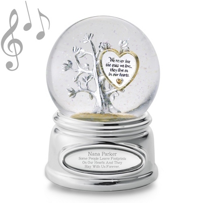 Memorial Tree Snow Globe - Snow Globes for Her