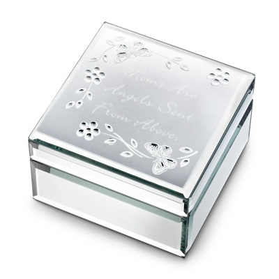 Personalized Silver Keepsake Box
