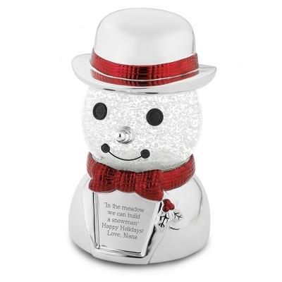 Snowman Snow Globe - Clearance Items for Christmas