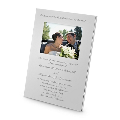 "High Opening 5"" x 7"" Frame - Wedding Frames & Albums"