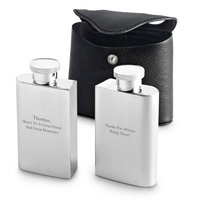 Engraved Flask Set - 5 products