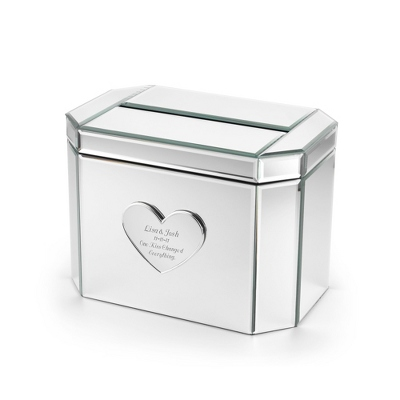Mirrored Card Box - $49.99