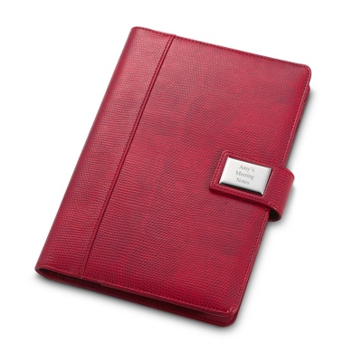 Red Lizard 9 x 6 Padfolio - Padfolios & Journals