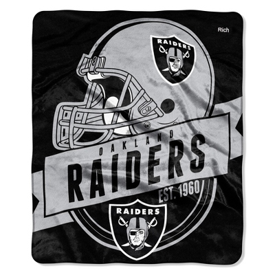 Oakland Raiders Throw - $29.99