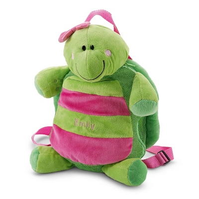 Personalized Turtle Silly Sac Bag for Children