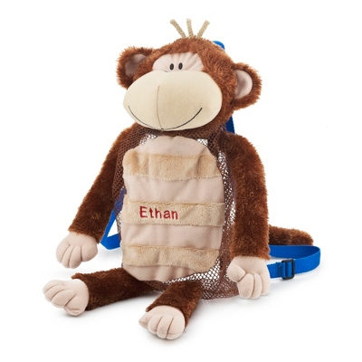 Personalized Monkey Silly Sac Bag