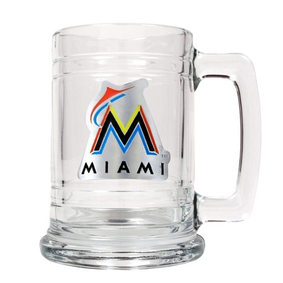 Miami Marlins Beer Mug