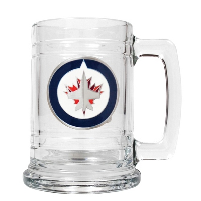 Winnipeg Jets Beer Mug - Flasks & Beer Mugs