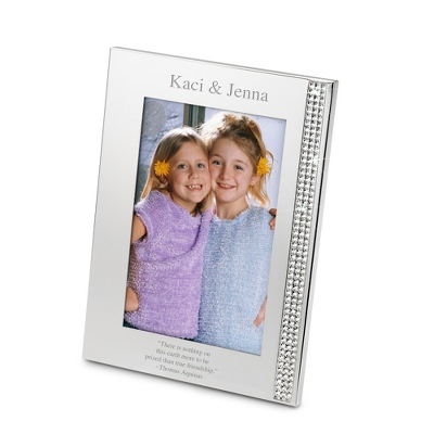 Personalized 4x6 Glass Frame