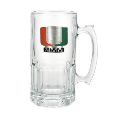 University of Miami 34oz Moby Beer Mug