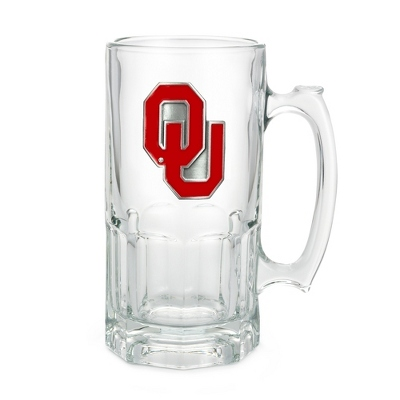 University of Oklahoma 34oz Moby Beer Mug
